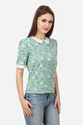 Western Peter Pan Women's Top