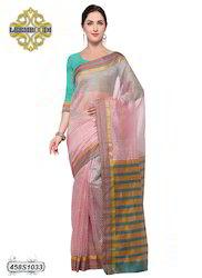 Striped Designer Cotton Saree