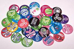 Promotional Plastic Badges