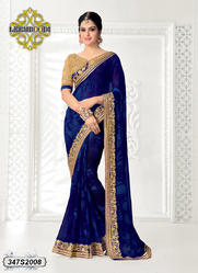 Traditional Zari Worked Saree