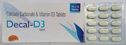 Calcium Carbonate 500mg Vitamin D3 250 I.U