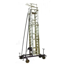 Tiltable Mobile Tower Ladder
