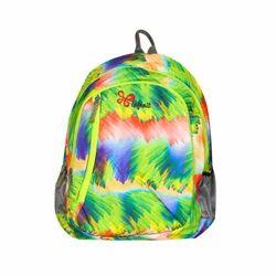 Spring School Bag, Parrot Color Backpack