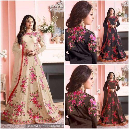 Designer Gown - Bridal Long Gowns Manufacturer from Surat