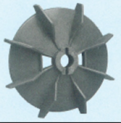 Plastic Fan Suitable For Lubi 100 Frame Size