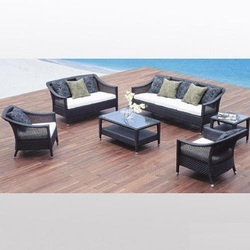 Outdoors Furniture Outdoor Rattan Sofa Set Manufacturer From New Delhi