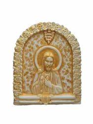 Jesus Christ- Lamb Of God Fiber 3D Mural Painting