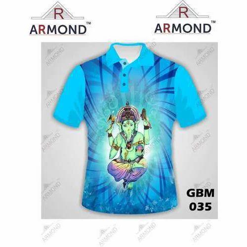26cece56a Ganpati T-Shirts - Sublimation Ganpati T-Shirts Manufacturer from Mumbai