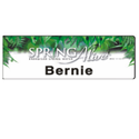 PVC Name Badges With Magnet