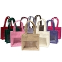 Transparent Jute Bag