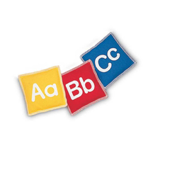 Alphabetic Beans Bag