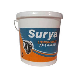 Printed Plastic Grease Containers