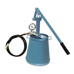 Hydrostatic Pressure Test Hand Pump