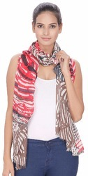 Printed Viscose Women's Stole
