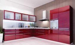 Residential Acrylic Modular Kitchen