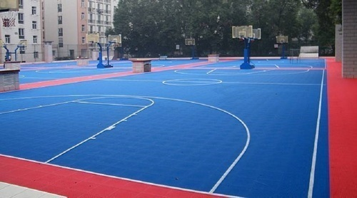 Deck Flooring Badminton Court Manufacturer From Mumbai