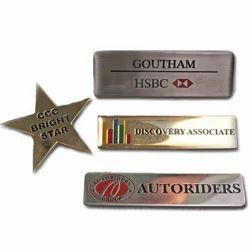 Brass Metal Badges