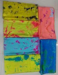 Satin Shibori Fabric