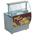 Stainless Steel Pani Puri Display Counter