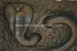 Stone Snake Statue