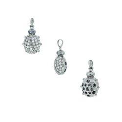 Pave Diamond Ladybug Pendant