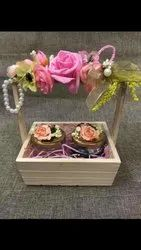 Pine Wood Wedding Hamper