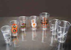 Disposable Plastic PET Glass 150ml- 500ml