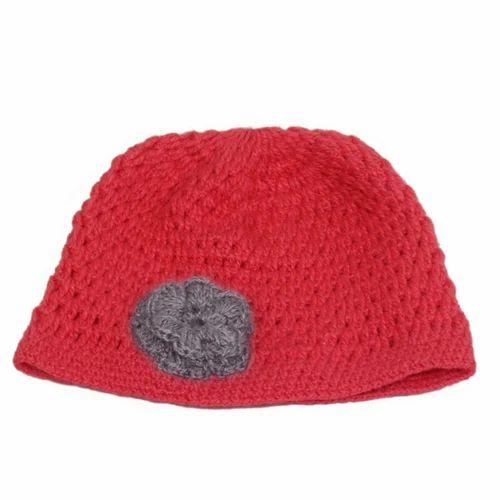 58b29117440 Woollen Cap - Hand Knitted Crochet Cap Manufacturer from New Delhi