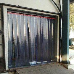 Yellow Green PVC Strip Door Curtain Size Feet X 10x10