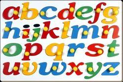 Jumbo Alphabets Lowercase With Knob