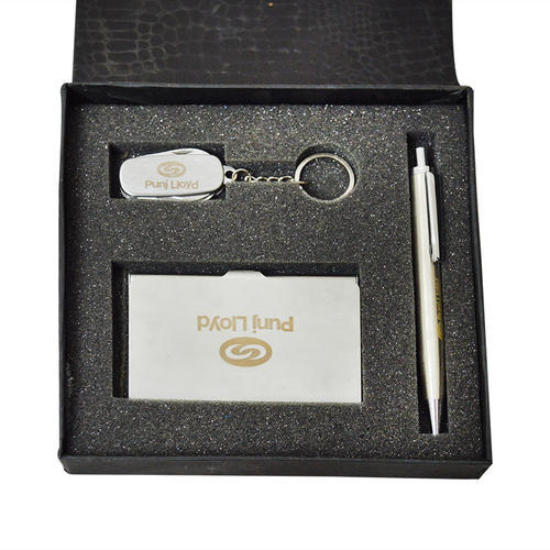 545bfb70bf9613 Pen Keychain Combo Box - Pen, Key Chain, Multipurpose & Visit Card ...
