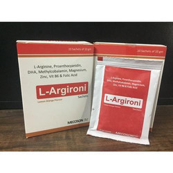 L-Arginine, Proanthocyanidin, DHA, Methylcobalamin, Magnesium, Zinc,Vit B6 &Folic Acid  - Lemon Oran