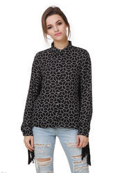 Black And White French Designer Shirt