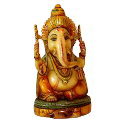 Resin Culture Sitting Ganesha Statue