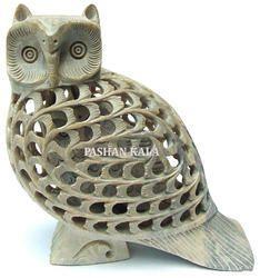 Undercut Owl Sculpture