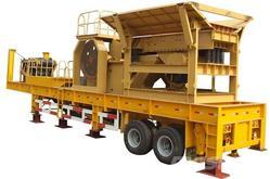 Mobile Stone Crusher Plant 100 TPH