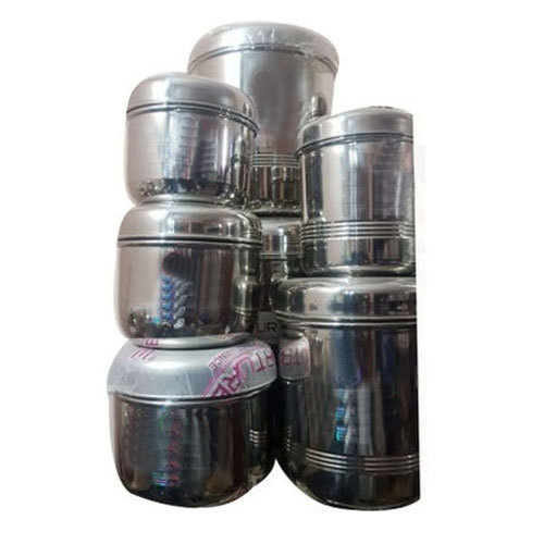 278578b8572 Stainless Steel Utensils - Stainless Steel Container Set Wholesaler ...