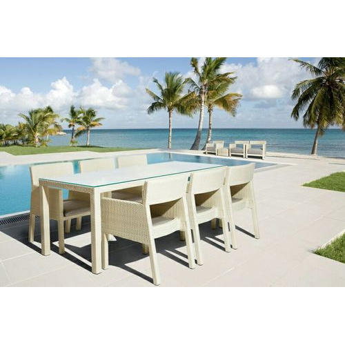 Poolside Dining Table Chair Set