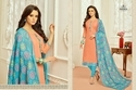 Round Neck Monalisa Suit Salwar Fabric