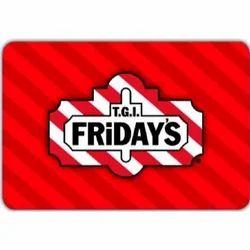 TGI Friday's TGIF - E-Gift Card - E-Gift Voucher