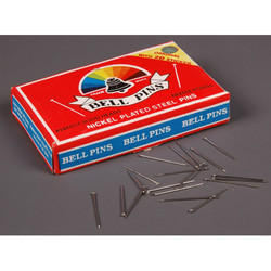 Nickel Plated Bell Pins