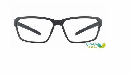 92515387f4 Men Eyeglasses - Matte Black Red Full Rim Rectangle Medium ...