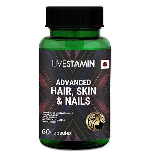 Hair Support Capsules Hair Growth Vitamins Skin Nail