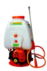Knapsack Power Sprayer - Aluminium Pump