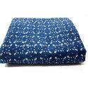 Indigo Print Dabu Print Cotton Fabric