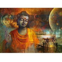 B-2 Buddha Painting