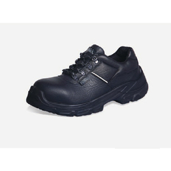 Eurok Buff Leather Safety Shoe