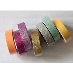 Pooja Craft & Embroidery Glitter Tape, Usage: Packaging