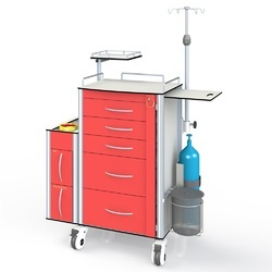 Emergency - Treatment and Dressing Trolley