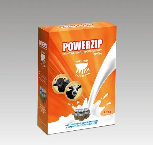 Powerzip Powder (Dairy Farm, Cow, Buffalo, Milk, Milk Fat, SNF in Milk)